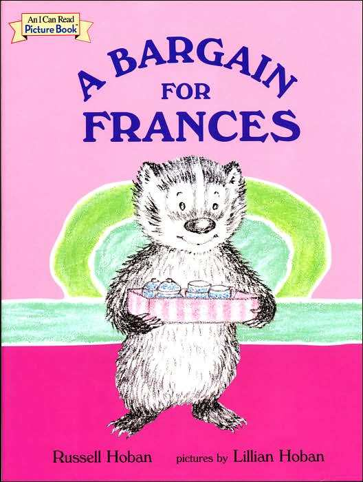 Russell hoban s frances the badger book recommendations and reviews