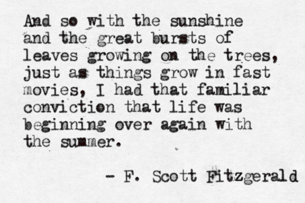 F Scott Fitzgerald Great Gatsby Quotes Great Gatsby Quotes Ch...