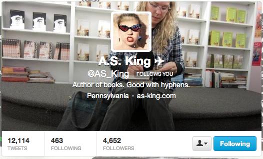 as king twitter