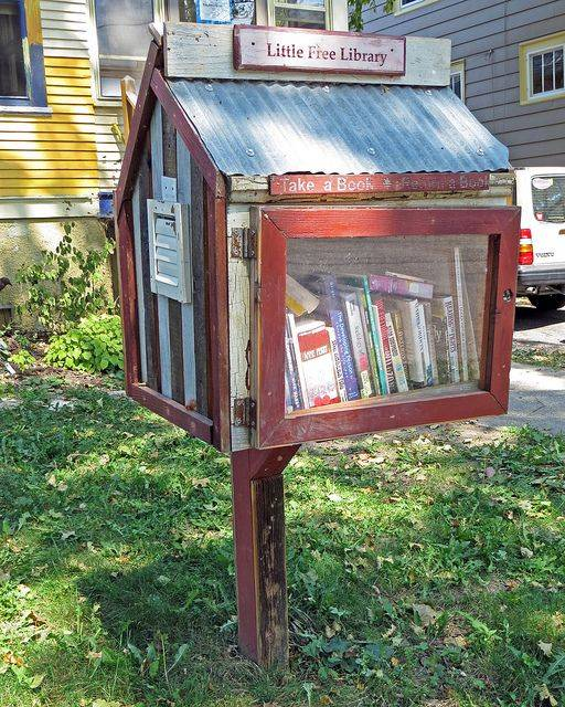 little free library madison,wisc