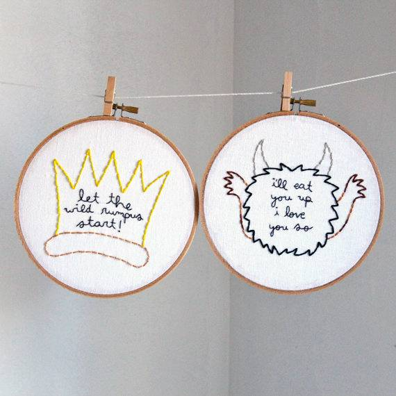 12 Badass Embroidered Bookish Quotes